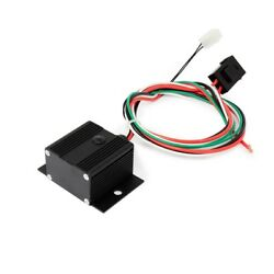 Adjustable Electric Cooling Fan Controller With Thread-in Thermostat Black