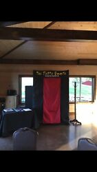 Fully Enclosed Photo Booth, Popular For Wedding Events. Pictures On Site