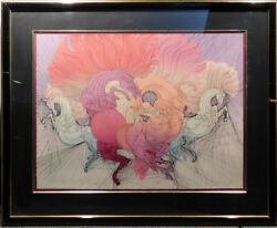 Guillaume Azoulayrites Artwork Color Hand Signed Etching Make An Offer