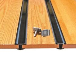 Bed Strips Dodge 1948 - 1952 Stainless Hidden Fasteners Long Bed Stepside Truck