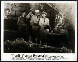 Charlie Chan In Panama 1940 Sidney Toler, Victor Sen Young 10x8 Lobby Card