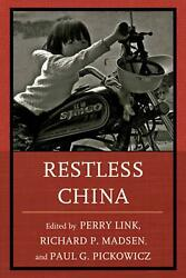 Restless China By Perry Link English Paperback Book Free Shipping