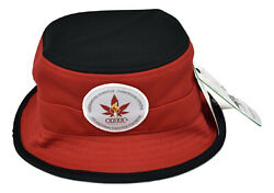 LRG Lifted Research Group Mens Live For Today Red Bucket Hat New NWT S M $12.99