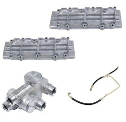 For Porsche 911 84-89 Lower Valve Covers Exhausts Fuel Line And Oil Thermostat Kit
