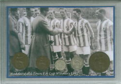 Huddersfield Town The Terriers Vintage F.A Cup Final Winners Coin Gift Set 1922
