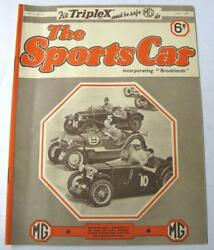 The Sports Car Mg House Magazine Aug 1936 Vol.2 No.17 Why Not A Stock Car Race