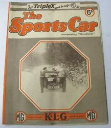 The Sports Car Mg House Magazine 1936 Vol.2 No.12 Past Glories Of The 200