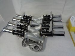 Chevy 283 327 350 Small Block Cross Ram Fuel Injection Throttle Bodies Manifold