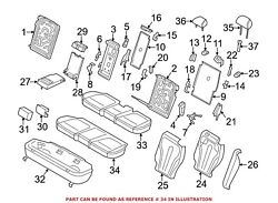 For Bmw Genuine Seat Cover Center 52207353350