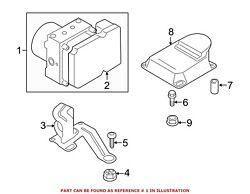 For Bmw Genuine Abs Hydraulic Assembly 34516862250