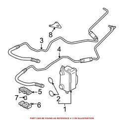 For Bmw Genuine Automatic Transmission Oil Cooler Hose Assembly 17227519267