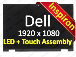 13.3touch Lcd Screen Assembly F Dell Inspiron 13-7347 7348 Side Ltn133hl03 Fhd