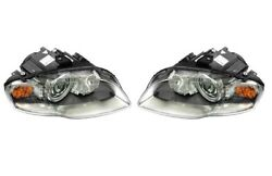 Left And Right Genuine Bi-xenon Dynamic Headlights Headlamps Pair Set For Audi A4