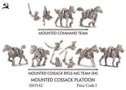 Battlefront FoW WWII Soviet 15mm Mounted Cossack Platoon Pack MINT