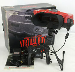 Nintendo Virtual Boy Console System Boxed Shop Display Ver. V10034241 Tested