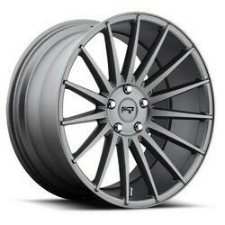 4rims 20 Staggered Niche M157 Form Charcoal Wheels And Tires