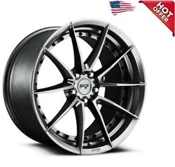 4rims 19 Niche M197 Sector Gloss Anthracite Wheels And Tires