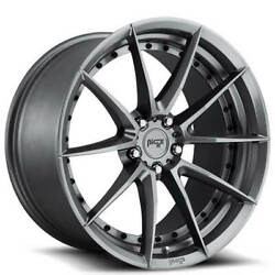 4rims 19 Staggered Niche M197 Sector Gloss Anthracite Wheels And Tires
