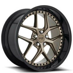 4rims 20 Niche M227 Vice Matte Bronze With Black Wheels And Tires
