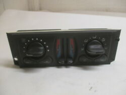 04 05 Chevrolet Impala Manual Climate AC Heater Temperature Control OEM LKQ