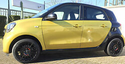 Complete All Weather Smart Fortwo Forfour 453 Oz Superturismo Black 16 Inch