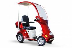 E Wheels  EW-54 four-wheel scooter with full cover and front windshield 15 MPH