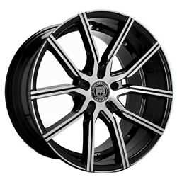 4/set 20 Staggered Wheels And Tires Lexani Gravity Bm