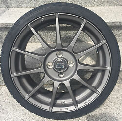 Msw Alloy Wheels Smart Fortwo 453 Tyre Continental Rdks 16 Inch Grey By Oz