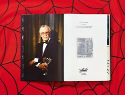 STAN LEE STORY MARVEL BY TASCHEN DELUXE SIGNED BY STAN LEE