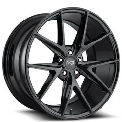4new 20 Niche M119 Misano Black Wheels And Tires