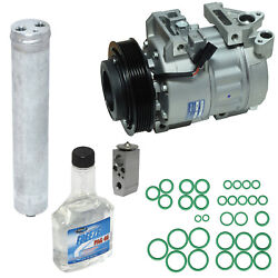 Kit New Ac Compressor New Receiver Drier New Expansion Valve Pag Oil Oring