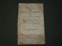 1868 National Campaign Biographies Of U. S. Grant And Schuyler Colfax - J 3627