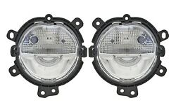 Left And Right Front Genuine Led Foglights For Mini Cooper F54 F55 F56 No Foglamps