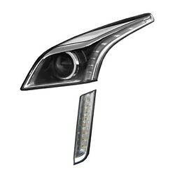 Driver Left Genuine Headlight W/ Hid And Daytime Run Lamp For Cts No Base Level Gm