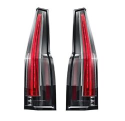 Left & Right Genuine Tail Brake Lights Lamps 2nd Design Pair Set for Cadillac