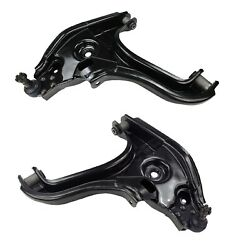 Pair Set 2 Front Lower Control Arm & Ball Joints Mevotech For Dodge Ram 3500 RWD