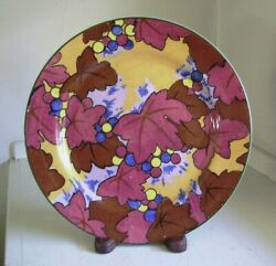 Royal Doulton D4793 Leaves And Berries Cabinet Plate C. 1920's