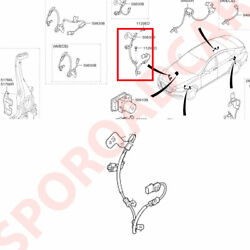 Front Abs Wheel Speed Sensor Rh For 2015-2018 Genesis Dh G80 Oem Parts