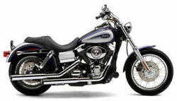 New Cobra Chrome 3 Slip On Mufflers Exhaust Pipes 1994-2017 Dyna Fxd Fxdb 6005