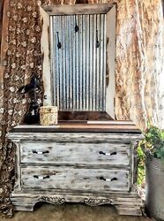 Rustic Furniture Hall Tree Home decor Antique One of a Kind Furniture Reuse