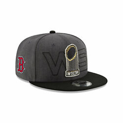 New Boston Red Sox New Era World Series Parade 9Fifty 2018 Hat Adjustable Men#x27;s