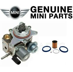 For Mini Cooper R55 R56 Fuel Pump With O-ring And Right Fuel Filter Kit Genuine