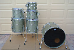 PEARL REFERENCE SERIES 6 PC DRUM SET in GRANITE SPARKLE! #D377