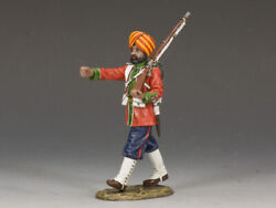 King And Country Sons Of Empire Soe016g Ludhiana Sikhs Regt. Marching Mib