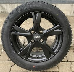 Winter Tyre And Wheel Sets Smart Fortwo Forfour Alloy Oxxo Mimas Black Fulda
