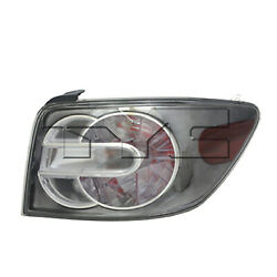 Aftermarket Replacement Passenger Side Tail Light Assembly NSF 166-51204