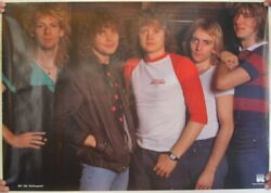 Def Leppard Poster Group Shot Early
