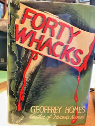INSCRIBED with his real name Mainwaring 1ST GEOFFREY HOMES FORTY WHACKS Morrow