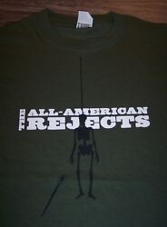 All American Rejects Pirate Skeleton Band T-shirt Small New