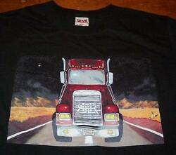 All American Rejects Tractor Trailer Truck Trucker Band T-shirt Small New